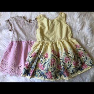 Baby Gap dress bundle.  Size 2T